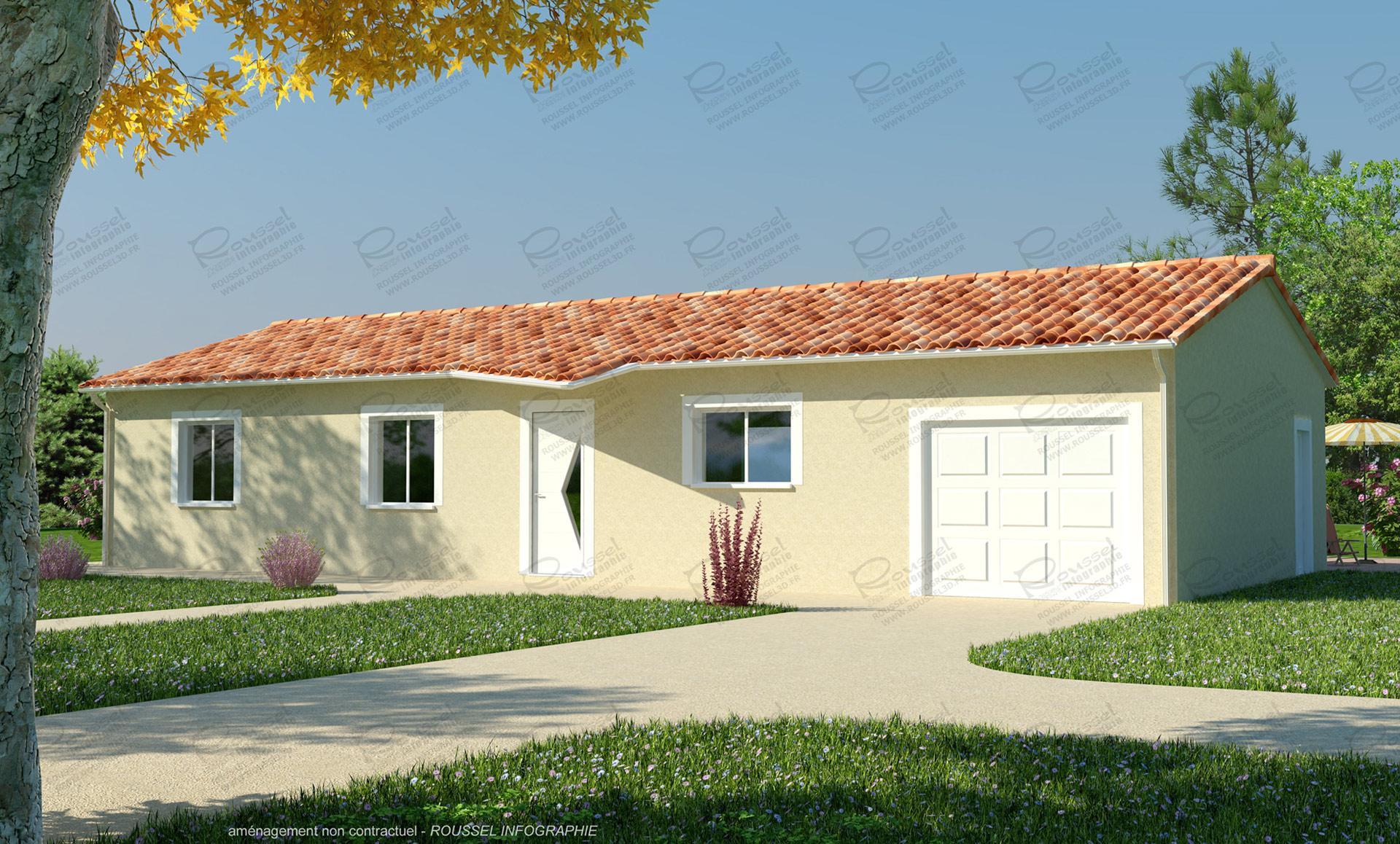Infographie 3d pour les constructeurs de maisons for Constructeur de maison 01