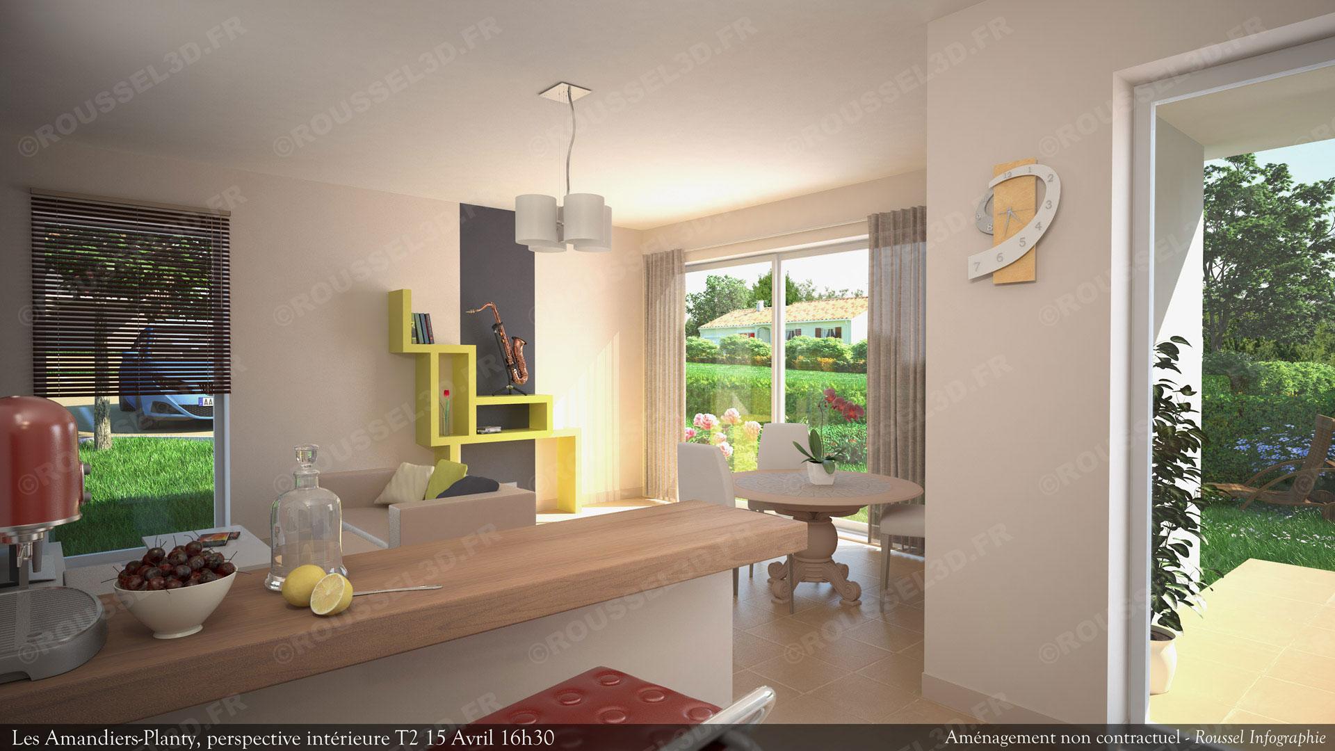 Genial Perspective 3d Pour Architecture Du0027intérieur